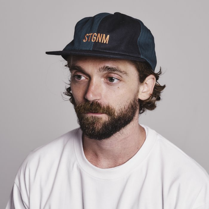 Mixed-6panel cap_NAVY