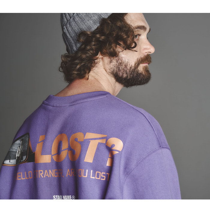 STG lost shirts _ BL purple