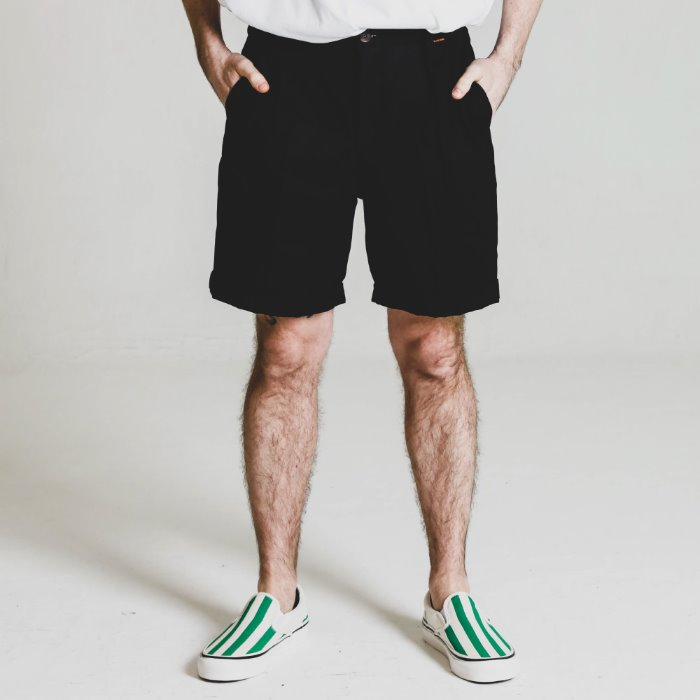 HBT STGNM shorts_BLACK