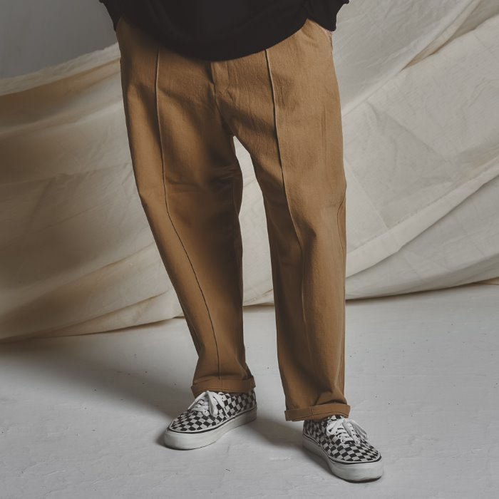 STG Pintuck Wide Pants _ BG